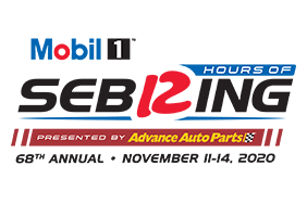 2020 MOBIL 1 TWELVE HOURS OF SEBRING PRESENTED BY ADVANCE AUTO PARTS logo