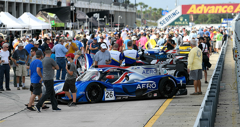 Champions, Intriguing Driver Lineups Highlight Michelin IMSA SportsCar Encore Entry List