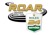 2021 ROAR BEFORE THE ROLEX 24 event logo