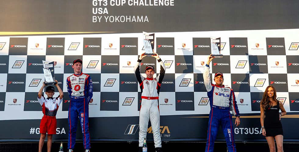 Dickinson Picks Up First Career Porsche GT3 Cup Challenge USA by Yokohama Win As De Angelis Clinches 2019 Title  at Michelin Raceway Road Atlanta