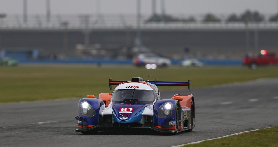 #61 Conquest / GRS Racing Norma M30, LMP3: George Staikos, Danny Kok