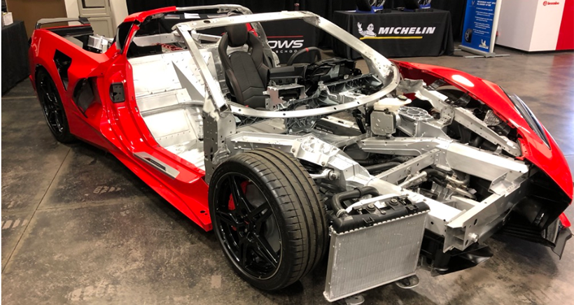 Deep dive into the 2020 Chevy Corvette's chassis technology