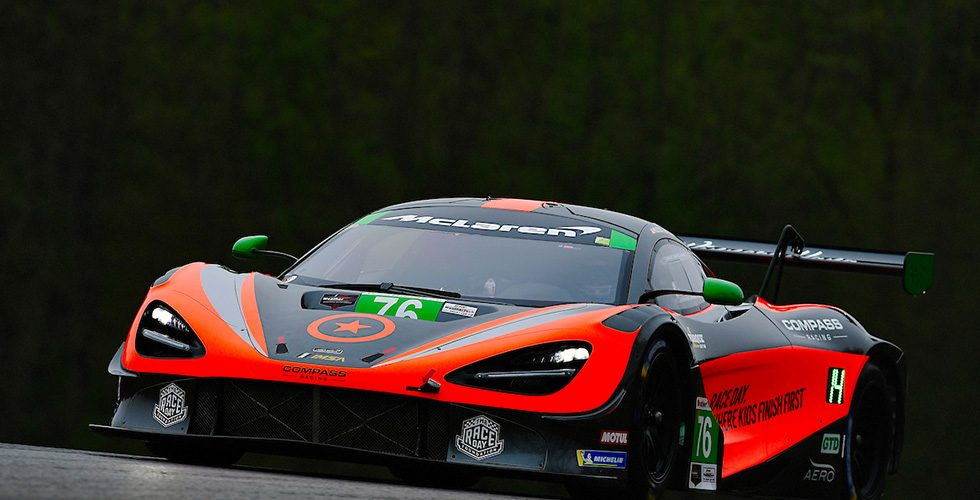 HOLTON AND FERGUS TO CONTEST IMSA'S WEATHERTECH SPRINT CUP WITH COMPASS RACING