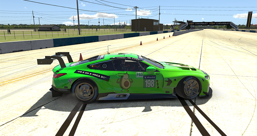 IMSA Stars and their Virtual Cars – Some liveries in IMSA Sebring SuperSaturday on iRacing