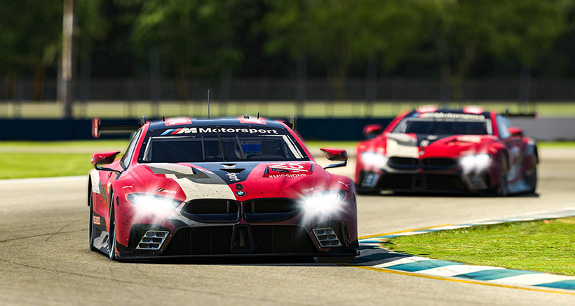 Spengler Leads BMW Sweep of IMSA Sebring SuperSaturday on iRacing