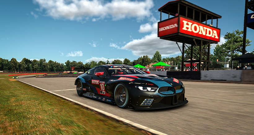 (MEDIA: EDITORIAL USE ONLY) (This image is from the iRacing computer game)