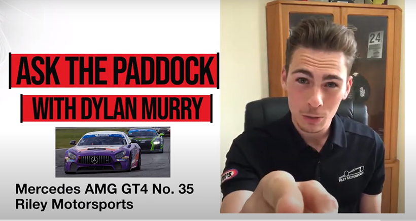Ask The Paddock Debuts with Michelin Pilot Challenge Driver Dylan Murry