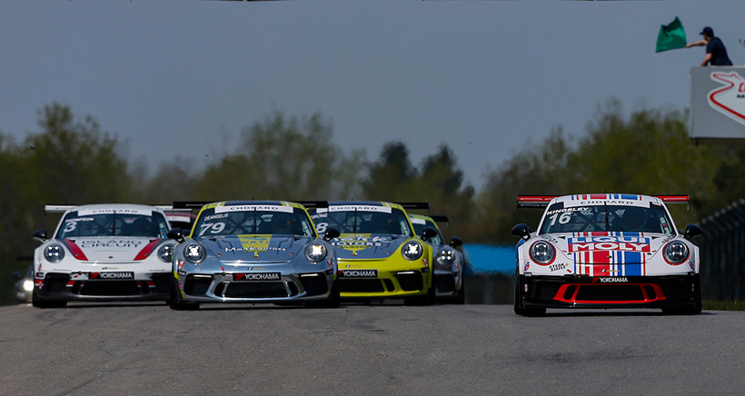 Opening Weekend for Porsche GT3 Cup Challenge Canada by Yokohama at Victoria Day SpeedFest Postponed