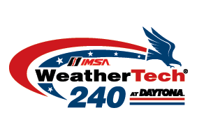 2020 IMSA WEATHERTECH 240 AT DAYTONA logo