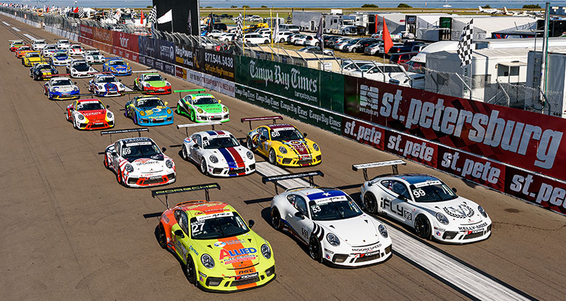 Revised 2020 Porsche GT3 Cup Challenge USA by Yokohama Schedule Begins At Road America