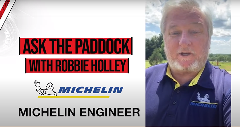 Ask The Paddock:  Michelin's Tony Menard and Robbie Holley
