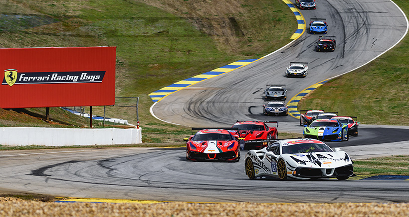 Ferrari Challenge North America Announces Revised 2020 Schedule