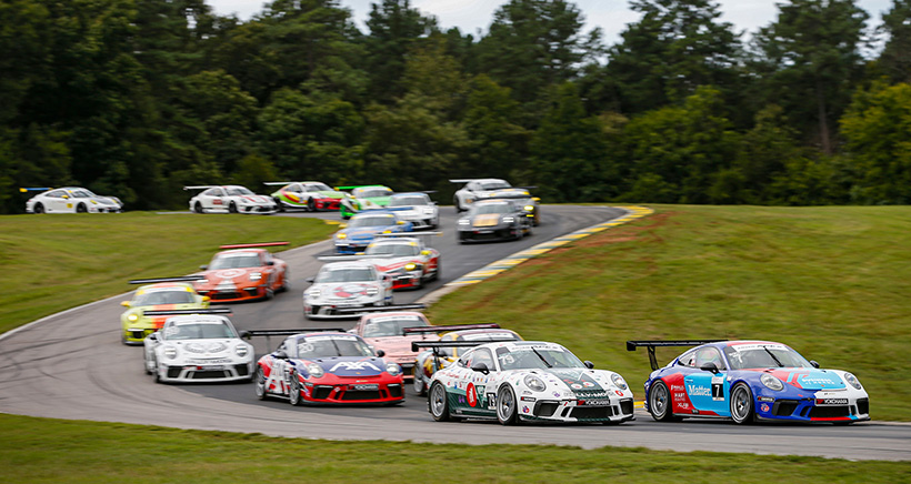 "Next ""Edge of Your Seat Moments Presented by RECARO"" Episode Features VIRginia International Raceway"