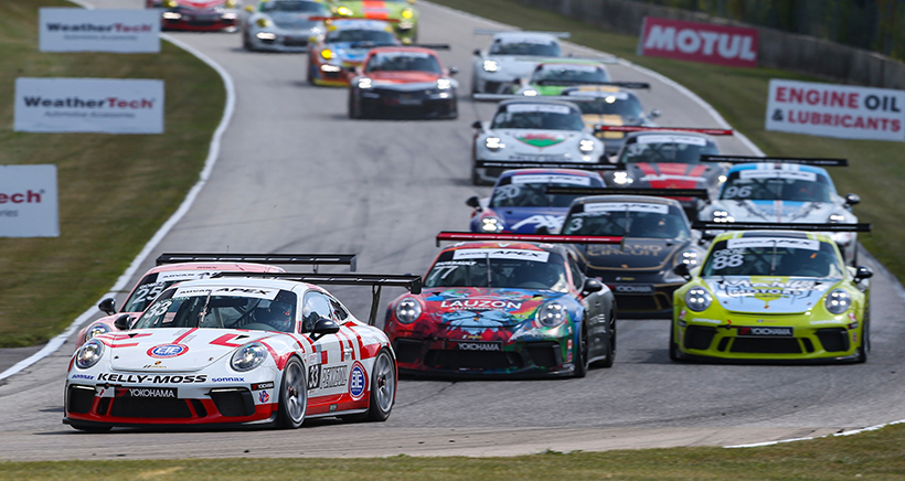 Green Flag For Porsche GT3 Cup Challenge USA By Yokohama At Road America