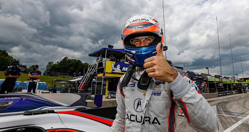 Ricky Rocket: Taylor Leads 1-2 Acura Team Penske Qualifying Sweep at Road America