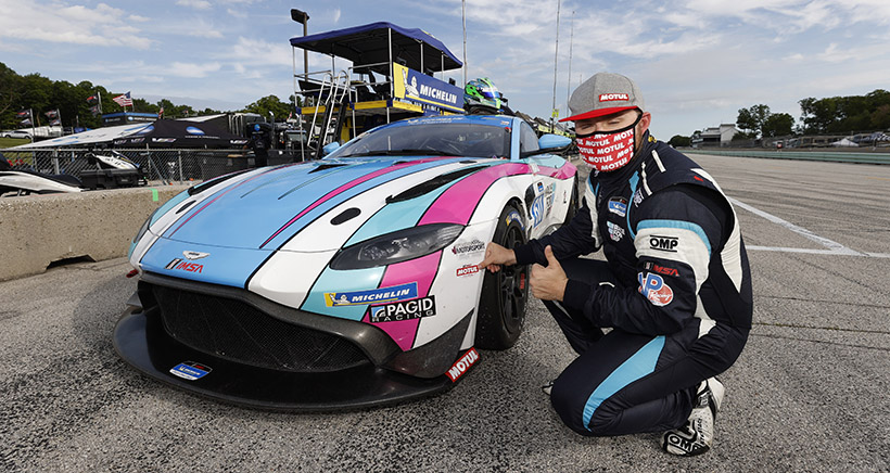Stacy, Faulkner Earn First IMSA Michelin Pilot Challenge Motul Pole Awards