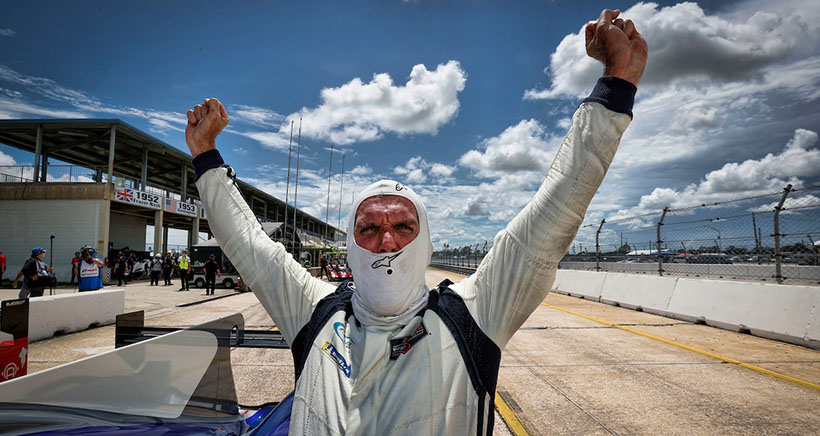 Pure Passion is Driving Force for LMP2 Racer Patrick Kelly