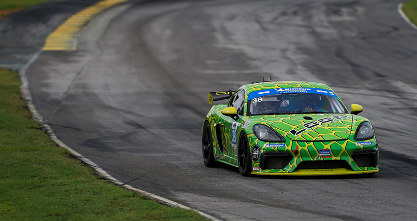 VIR Friday IMSA Challenge & Single-Make Notebook