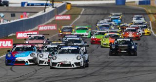 Porsche GT3 Cup Challenge USA by Yokohama Roars Into Michelin Raceway Road Atlanta