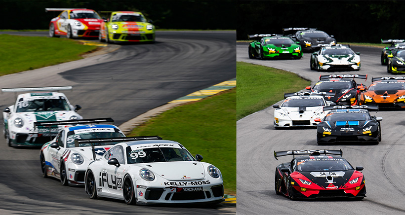 Race 1, Start, #16 Kelly-Moss Road and Race Porsche 991 / 2017, GT3P: Jeff Kingsley