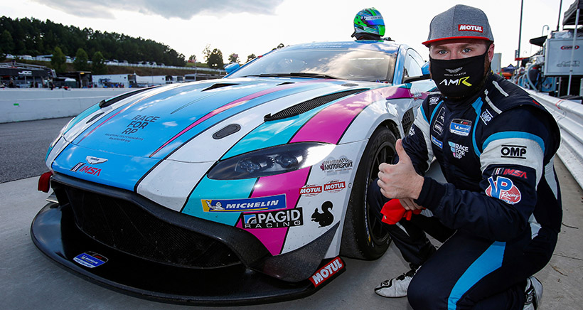 Stacy Captures Second Career Motul Pole Award in KohR's Aston Martin Vantage GT4