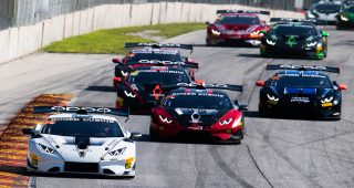 2020 Lamborghini Super Trofeo North America At Road America Race Broadcast