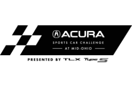 2021 Acura Sports Car Challenge Presented by the TLX Type S Logo