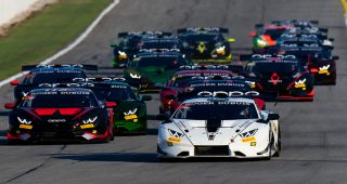 2020 Lamborghini Super Trofeo North America At Michelin Raceway Road Atlanta Race Broadcast