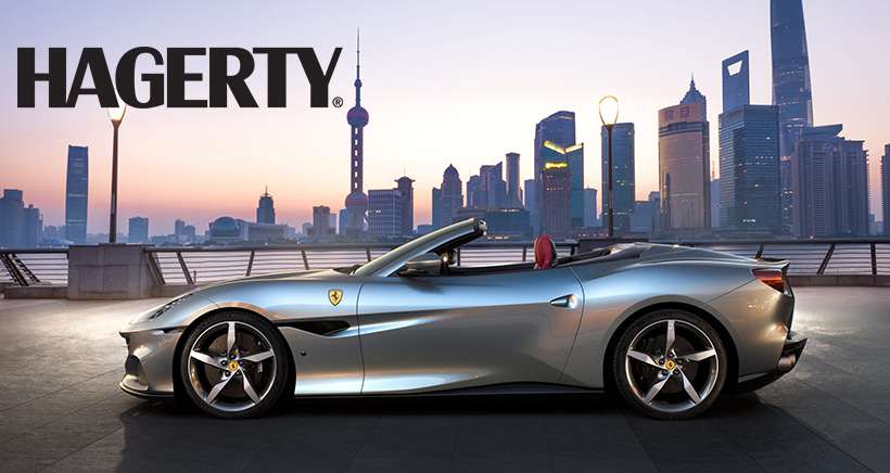 Ferrari's New Portofino M Sports Edgier Styling, More Power, and an Eight-Speed Gearbox