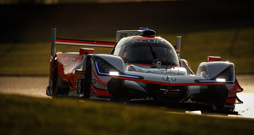 Acura Sports Car Challenge at Mid-Ohio – Friday Notebook