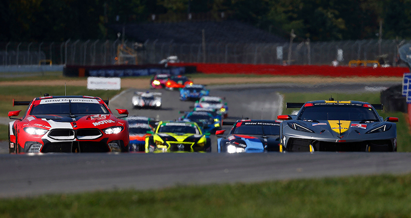 2020 Acura Sports Car Challenge At Mid-Ohio Race Broadcast