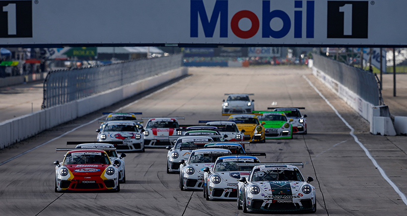 Kingsley Puts Bow on Porsche GT3 Cup Challenge USA by Yokohama Title with Win in Season Finale