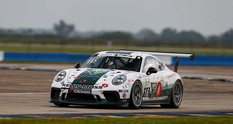 Kingsley Keeps Humming along with Porsche GT3 Cup Challenge USA Pole