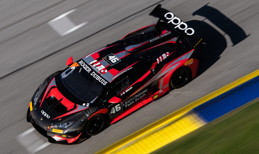 September 4-6, 2020. Lamborghini Super Trofeo, Road Atlanta: Race 2, 46 Brandon Gdovic, PPM Precision Performance Motorsports, Lamborghini Palm Beach, Lamborghini Huracan Super Trofeo EVO