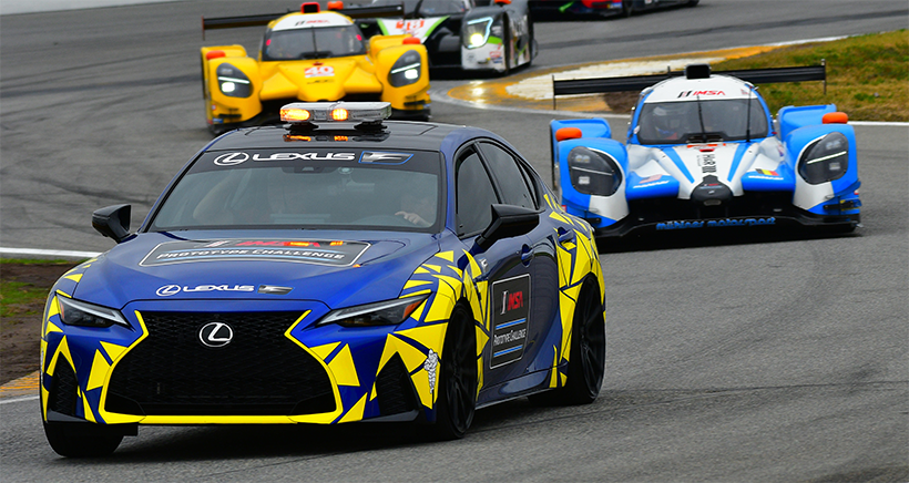 Lexus Hits The Track As Official Safety Vehicle At Daytona
