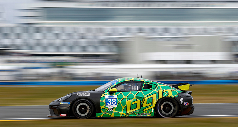 #38 BGB Motorsports Porsche Cayman GT4, GS: Spencer Pumpelly
