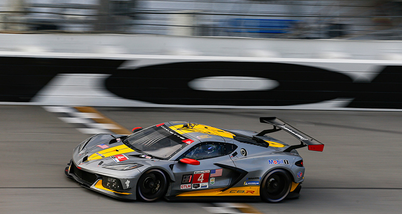 First Time's A Charm for Sims, Tandy with Corvette Racing