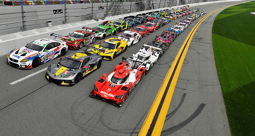 The 2021 Rolex 24 At Daytona Field