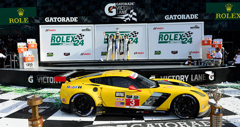 Take Home a Champion: Race-Winning Corvette C7.R Up for Auction