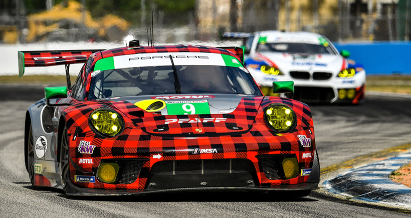 Glad for Plaid: Flawless Execution Leads Pfaff Porsche to Victory
