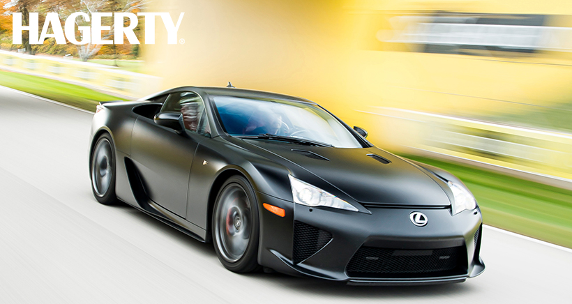 Your Handy 2010–12 Lexus LFA Buyer's Guide