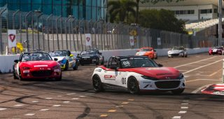 Race 2 – 2021 Mazda MX-5 Cup At St. Petersburg Street Course Race Broadcast