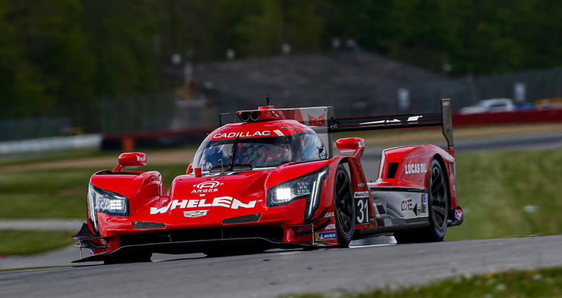 Derani Tempers Joy After Leading Practice at Mid-Ohio