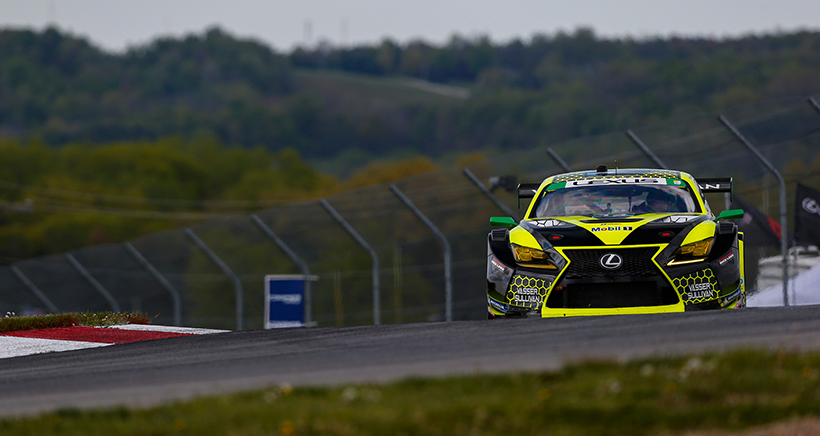 Lexus Continues Torrid GTD Pace at Mid-Ohio; Long Claims Max Points