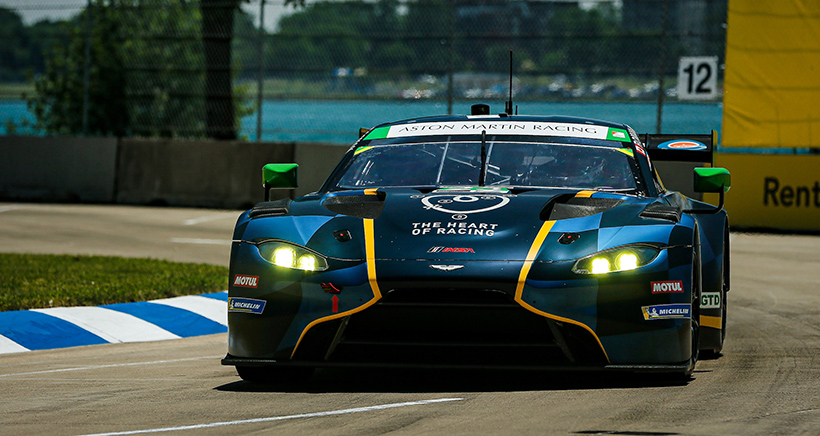 No. 23 Heart of Racing Elevated to GTD Win at Detroit