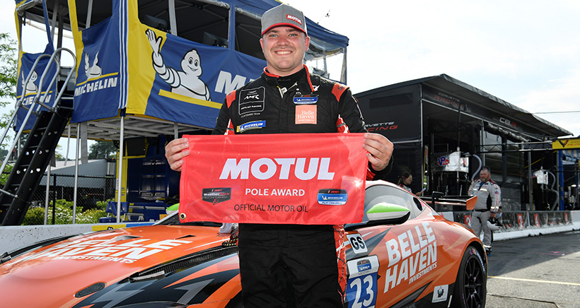 First-Time Michelin Pilot Challenge Pole Winners at Lime Rock Park