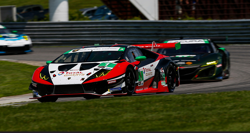 'Day off' for Sellers Results in Second-Place Finish at Lime Rock
