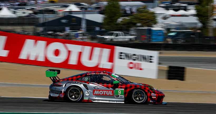 Plaid Is Back in Style: Pfaff Porsche Charging in GTD