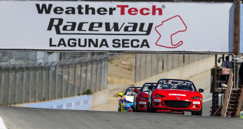 Wagner Takes Mazda MX-5 Cup Championship Lead after Monterey Sweep