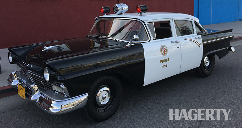 This '57 Ford L.A. Cop Cruiser is as Accurate as they Come